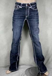 Laguna Beach Jeans mens 3rd Gen double stitch white SL