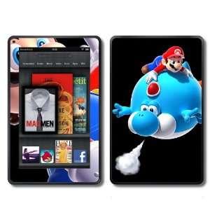 Kindle Fire Skins Kit   Super Mario Bros Mario