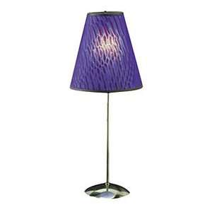 Lumisource Serpentine Motion Table Lamp   Sapphire