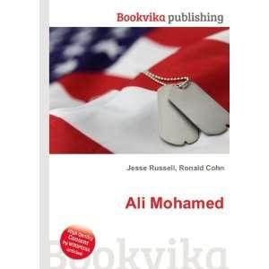 Ali Mohamed: Ronald Cohn Jesse Russell: Books