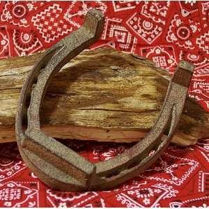 Extra Large Cast Iron Horse Shoe SET/2