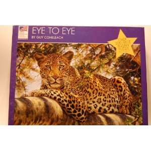 Eye to Eye 300 piece Jigsaw Puzzle Toys & Games