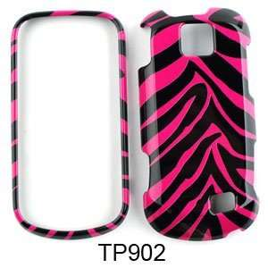 Samsung Intercept M910 (Moment 2) Pink Zebra Skin Hard
