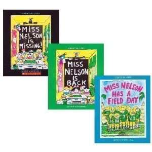 Miss Nelson Trio (3 Books) Harry Allard, James Marshall Books