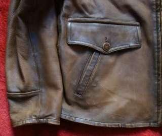 NWT Ralph Lauren POLO Reversible Leather Jacket Size L