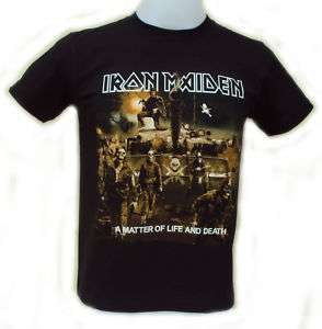 Iron Maiden A Matter Of Life And Death T Shirt
