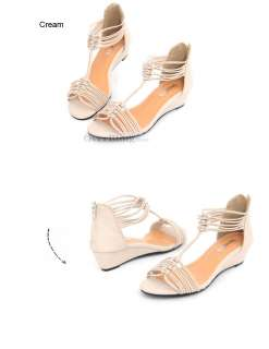 Opened Toe Faux Leather Roman Gladiator Ankle Strap Flats Sandals