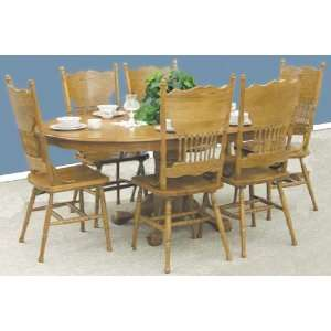 Antique Style Dining Kitchen Table   Chairs Not Included