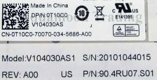 NEW GENUINE OEM DELL KeyboardVostro 3300 3400 3500 3700 T10C0 V104030A