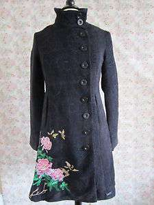 Desigual Womens Authentic FLORENCIA Coats Jackets Size 36 38 40 42 44