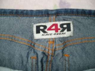 RAVE 4 REAL R4R jrs 7 MIDRISE stretch FLARE jeans 27x31