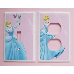2pc New RARE Handcrafted Disney Princess Cinderella Bird