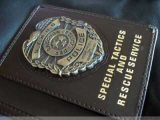 Resident Evil STARS ID Badge Metal Emblem Blank ID type