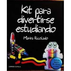 KIT PARA DIVERTIRSE ESTUDIANDO MARINA ALCOLADO Books
