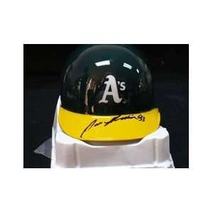 Canseco, Jose Autographed/Hand Signed Mini Helmet Sports