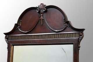 15724 Antique Mahogany Four piece Bedroom Set