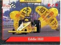 EDDIE HILL Diecast 1/24 American Eagle Chrome The TEXAN SIGNED CARD