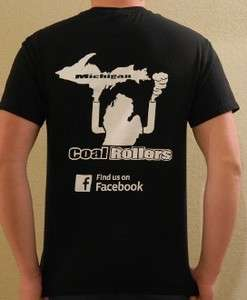 Michigan Coal Rollers, Dodge Ram Cummins t shirt, Duramax, All Sizes