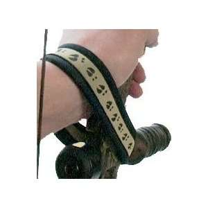 Outdoor Prostaff Outdoor Wrist Wrap Deer Track Brown