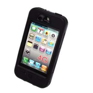 Zone Shop (TM) Black Double Layer Protective Hard Rubber