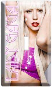 LADY GAGA MODEST SINGLE LIGHT SWITCH COVER WALL PLATE N