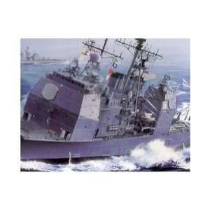 Guided Missile Cruiser U.S.S. Normandy 1:700 Scale Modern