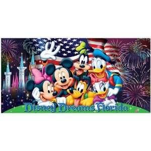 Disney Mickey Minnie Donald Daisy Pluto Goofy Firework