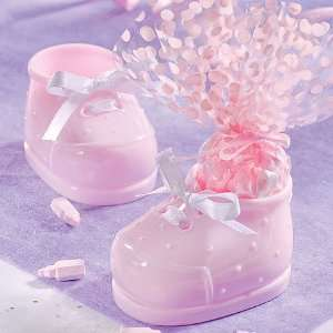 Pink Baby Bootie Favor Kit 12ct Toys & Games