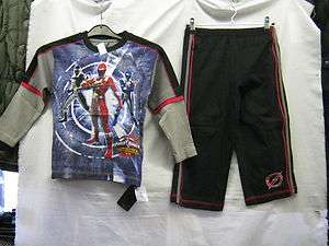 BOYS POWER RANGER MULTI COLOURED PYJAMA SET