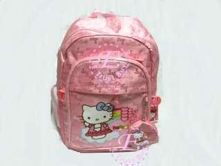 HelloKitty Rucksack Backpack School girl bag kid case pink KT
