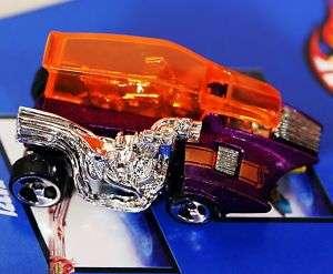 HOT WHEELS STINGRAY KRATE CHOPPER RAT ROD CAR MUSCLE BI