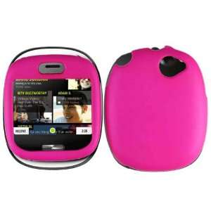 Hot Pink Hard Case Cover for Microsoft Sharp Kin 1 Cell