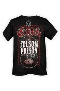 Johnny Cash Folsom Prison T Shirt