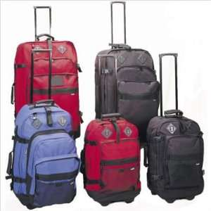 Outdoor Gear 4 Piece Upright Luggage Set Color Red