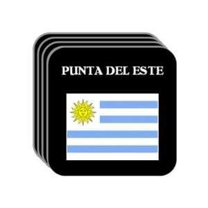 Uruguay   PUNTA DEL ESTE Set of 4 Mini Mousepad Coasters