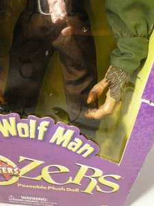 POZERS HUGE 24 The Wolf Man Action Figure SIDESHOW Toys MONSTER Ltd