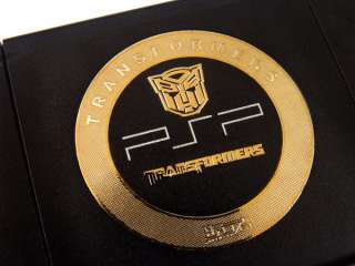 TRANSFORMERS METAL STICKER DECAL FOR PSP 2000 M MSP01 G