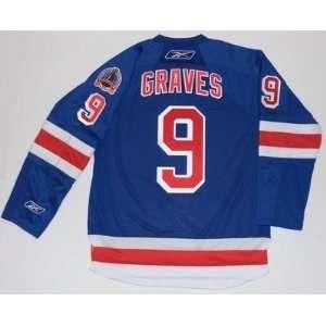 Adam Graves 1994 Stanley Cup New York Rangers Jersey