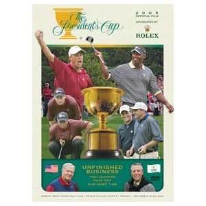 2005 PRESIDENTS CUP   DVD
