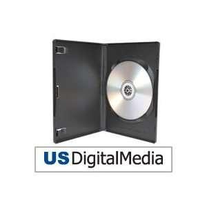 USDM Premium DVD Case Single Disc Black Electronics