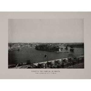 Mediterranean H. V. Morton   Original Halftone Print
