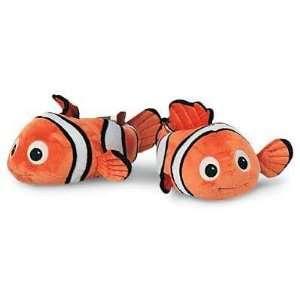 Disney Finding Nemo Fish Plush Slippers Shoes Kids Size 7