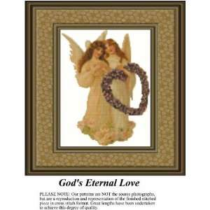 Gods Eternal Love Cross Stitch Pattern PDF Download