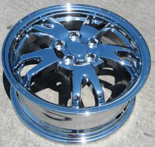 EXCHANGE YOUR STOCK 4 15 FACTORY TOYOTA PRIUS OEM CHROME WHEELS RIMS