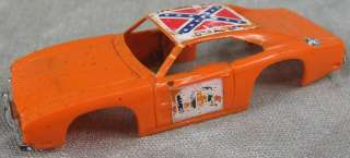 1970's HO Slot Car Body~Orange General Lee