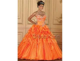 Quinceanera wedding Dress Prom Ball Gown Cocktail Evening Dresses