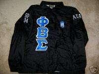 CUSTOM Phi Beta Sigma Crossing Jacket   you customize