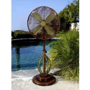 Playa 18 inch Deco Adjustable Outdoor Standing Fan