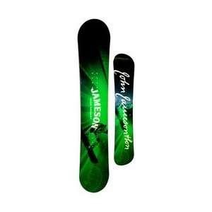 154cm Jameson Irish Whiskey Camber Mens Snowboard Deck