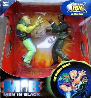 Men In Black MIB 5 Jay & Alien Perp Action Figure Set by Gloob Toys